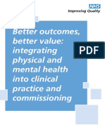 Better Outcomes Better Value Event Report Nhs