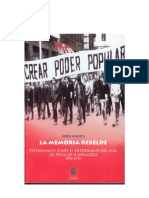 La Memoria Rebelde - Mario Amoros
