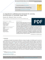 A Comprehensive Multidimensional Framework for Assessing the Performance of Sustainable Supply Chains