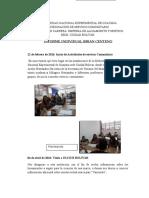 Informe Individual Servicio Comunitario Brian Centeno