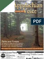 October-November 2009 Appalachian Voice Newsletter