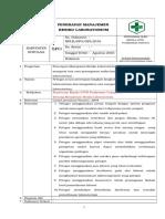 25.Sop - Penerapan Manajemen Resiko Laboratorium