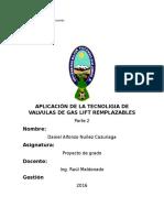 Aplicación de La Tecnoligia de Valvula de Gas Lift Remplazable
