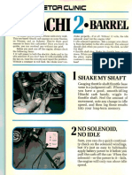 Hitachi Two Barrel Carburetor