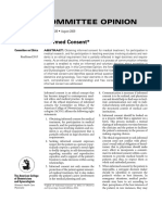 Informed Consent Journal