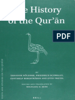 Theodor Nöldeke, Friedrich Schwally, Gotthelf Bergsträßer, Otto Pretzl_ Edited and translated by Wolfgang H. Behn-The History of the Qurʾān-Brill Academic Pub