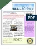 Rotary Newsletter - Jun 8 2010