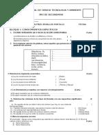 Examen Mensual 3ro IV