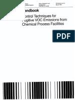 Técnicas de Control de COV de la EPA