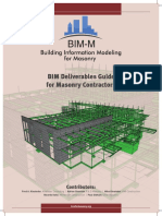 Project IV Contractor Input Project Bim Deliverables Guide for Masonry Contractors February 2016