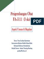 01 Pengembangan Obat - Aspek Umum & Regulasi.pdf
