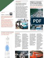 Estigmas y propuestas en el transporte público de la zona metropolitana.