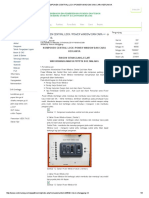 Komponen Central Lock _power Window Dan Cara Kerjanya