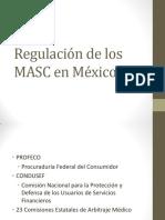 Regulación de Los MASC en México