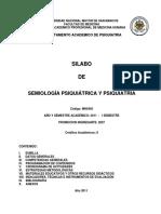 MH0450_Semiologia Psiquiatrica Psiquiatria