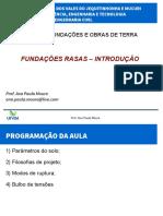 Aula05a Fundacoes Diretas Introducao