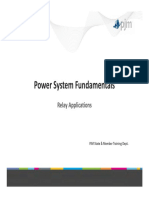 Power System Fundamentals - Relay Application