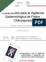 3 Lineamientos Para La Vigilancia Epidemiológica de Fiebre Chikungunya