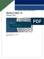 Pasos Para Instalar Windows 8