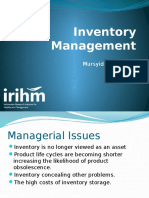 2 Inventory Management at Lukas