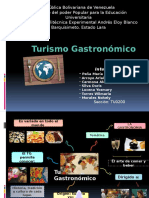 Turismo Gastronomic o