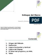 Marco Logico Escuela 2014