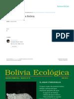 El Jaguar Bolivia Eco Logic a 78