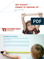 Children First Canada - The Kids Are Not Alright.