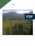 La Biodiversidad de Combayo Paola