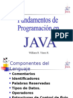 Java Sintaxis