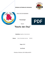 Rancho Don Chuy - (Karen Hernández Herrera)