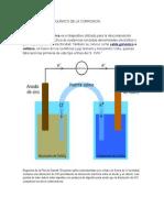 Principio Electroquímico de La Corrosion