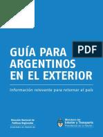 Guia Argentinos Exterior