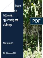 Community Forest Certification in Indonesia