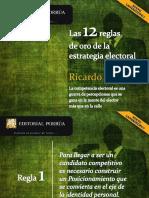 12 Reglas de Oro de La Estrategia Electoral