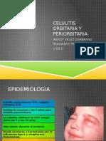 Celulitis Orbitaria y Periorbitaria