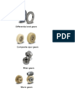 Differential End Gears