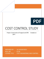 Cost Control Study.