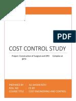Cost Control Study.