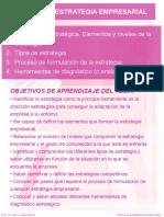 Tema 3 La Estrategia Empresarial