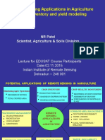 02 Nov 2015_ Remote Sensing Applications in Agriculture _Dr. Nrpatel