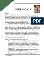 Long Term Transfer Goals