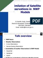 05 Nov 2015 _Assimilation of Satellite Observations in NWP Models_Dr.randhir Singh