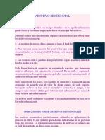 ARCHIVO-SECUENCIAL