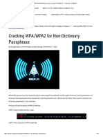 Cracking WPA_WPA2 for Non-Dictionary Passphrase - ClubHACK Magazine