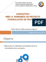 1 - Formulacion de Proyecto