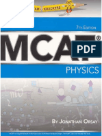 ExamKrackers MCAT General Physics Book