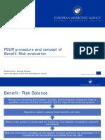 What is a PSUR Procedure & Concept of Benefit-risk Evaluation