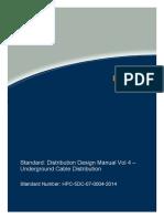 Underground Distribution Design Guide Lines