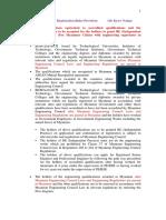 Myanmar Engineer Registration Rules Provision